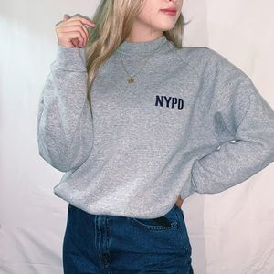 New York Police Department Vintage Crewneck